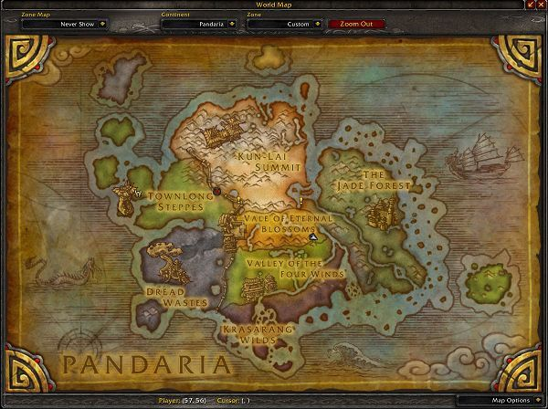 The Continent of Pandaria