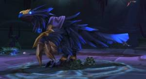 Anzu the Raven God Boss in Sethekk Halls