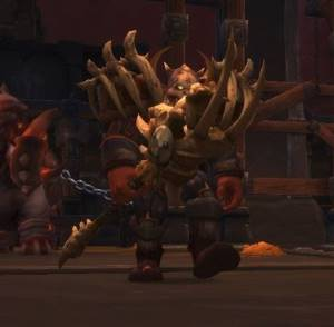 Beastlord Darmac Boss in Blackrock Foundry