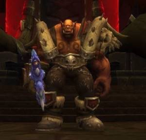 Garrosh Hellscream Boss in Siege of Orgrimmar