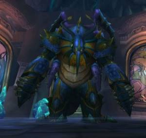 General Vezax Boss in Ulduar