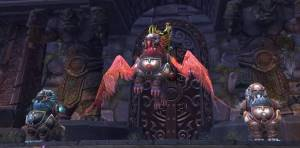 Iron Qon Boss in Throne of Thunder