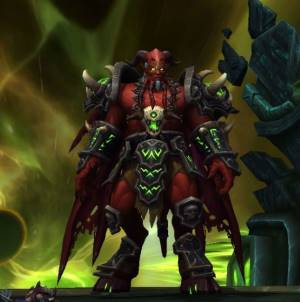 Kil`Jaeden Boss in Tomb of Sargeras