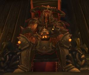 King Ymiron Boss in Utgarde Pinnacle