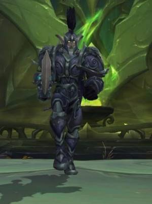 Lord Kur`talos Ravencrest Boss in Black Rook Hold