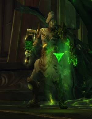 Maiden of Vigilance Boss in Tomb of Sargeras