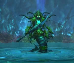 Mistress Sassz`ine Boss in Tomb of Sargeras