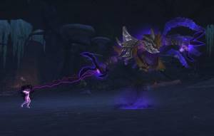 Nhallish Boss in Shadowmoon Burial Grounds
