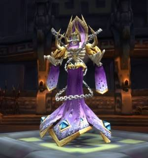 Novos the Summoner Boss in Drak`Theron Keep