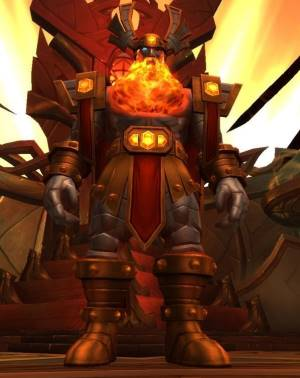 Odyn Boss in Halls of Valor
