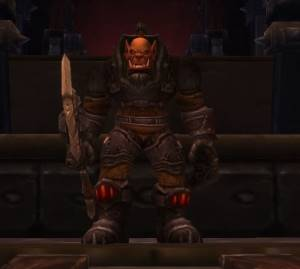 Operator Thogar Boss in Blackrock Foundry