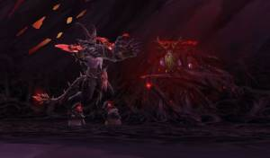 Shade of Xavius Boss in Darkheart Thicket
