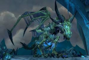 Sindragosa Boss in Icecrown Citadel