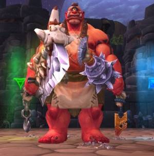 The Butcher Boss in Highmaul