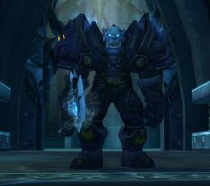 The Deathbringer Boss in Icecrown Citadel