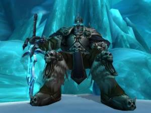 The Lich King Boss in Icecrown Citadel