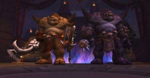 Twin Ogron Boss in Highmaul